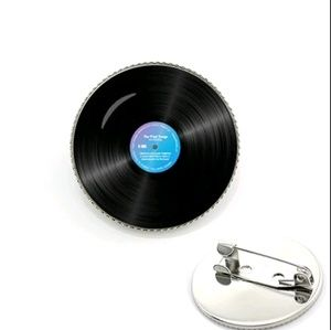 Vinyl Record Disc Brooches Brooches Brooch Pin